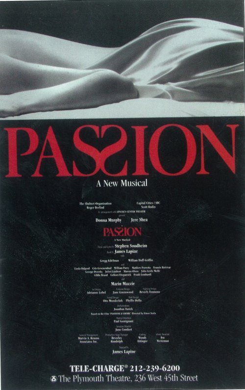 30 Days Of The 2014 Tony Awards: Day #26 - PASSION
