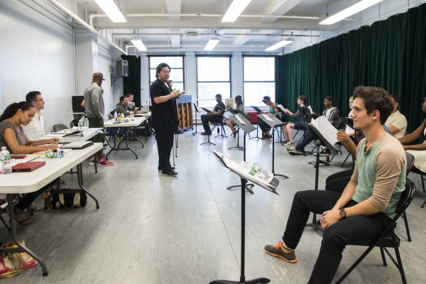 Photo Flash: In Rehearsal with Taye Diggs, Stafford Arima & More for THE ME NOBODY KNOWS