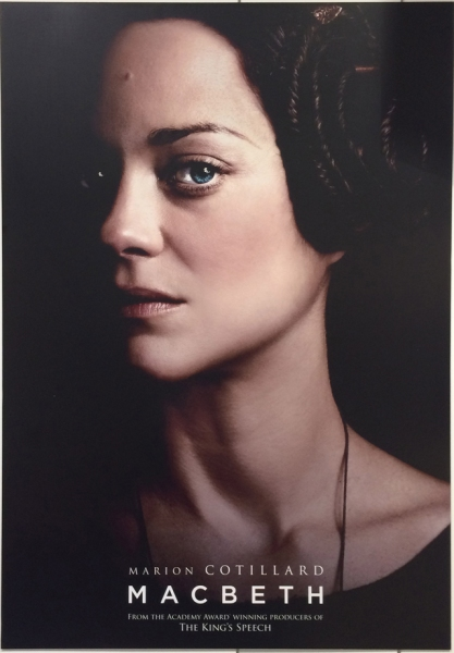 Photo Flash: Michael Fassbender, Marion Cotillard in MACBETH Poster Art