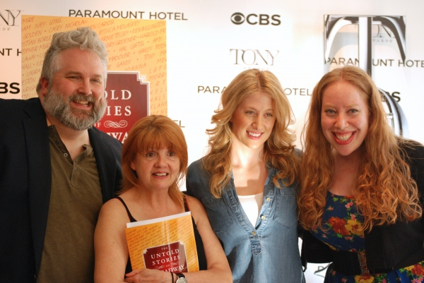 Photo Flash: Brian Yorkey, Annie Golden & Caissie Levy Tell 'Untold Stories of Broadway'