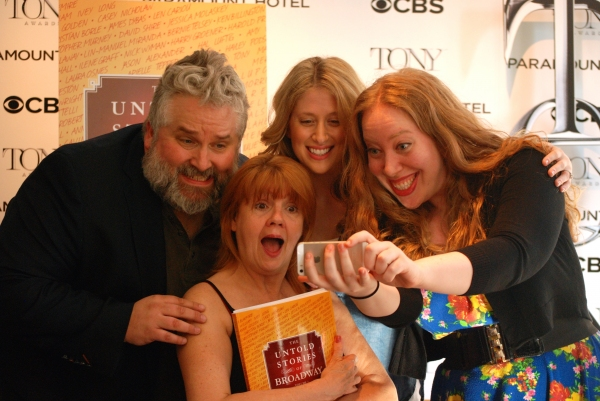 Brian Yorkey, Annie Golden, Caissie Levy, Jennifer Ashley Tepper