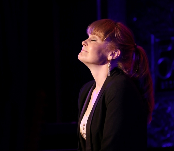 Photo Coverage: Kate Baldwin Previews SING PRETTY, DON'T FALL DOWN at 54 Below