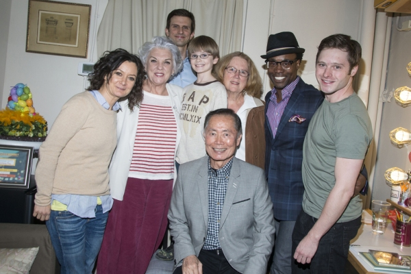 Sara Gilbert, TYne Daly, Frederick Weller, Grayson Taylor, George Takei, Holly Near, Billy Porter and Bobby Steggert