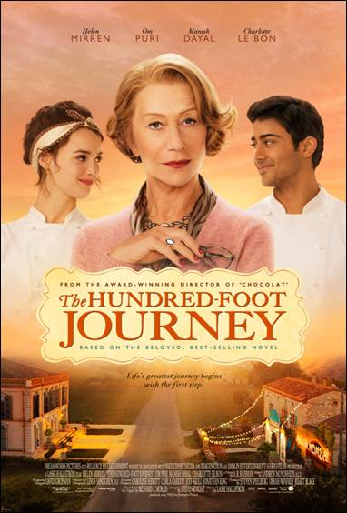 VIDEO: Poster/Trailer for HUNDRED-FOOT JOURNEY Starring Helen Mirren