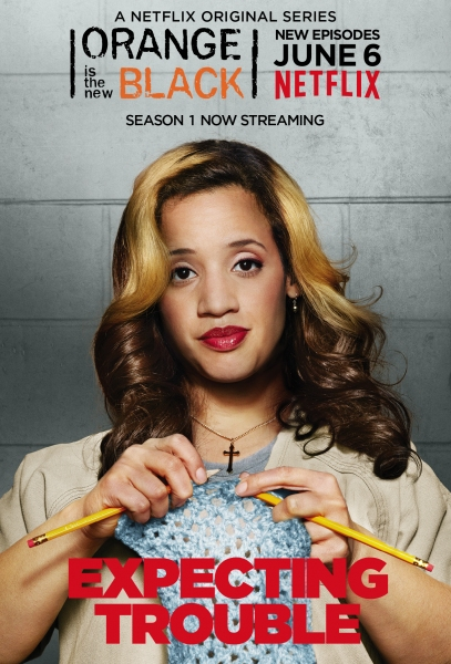 Photo Flash: Additional Character Posters for ORANGE IS THE NEW BLACK Season 2