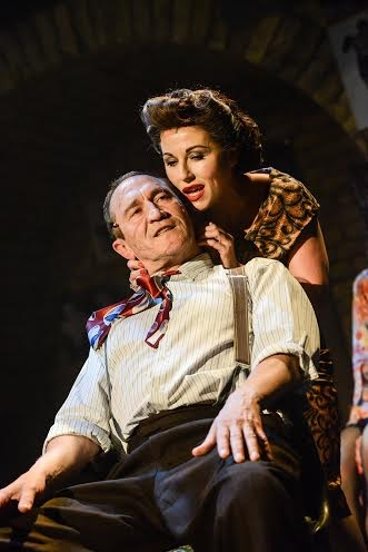 Mark Arden and Jessie Wallace Photo