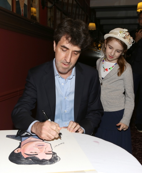 Photo Coverage: Jason Robert Brown Celebrates Sardi's Caricature Unveiling with Cast of THE BRIDGES OF MADISON COUNTY!