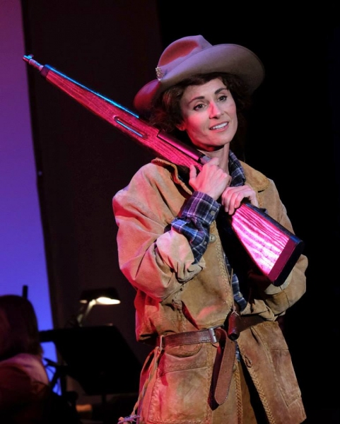 Photo Flash: First Look at Beth Malone, Steve Blanchard and More in SDMT's ANNIE GET YOUR GUN