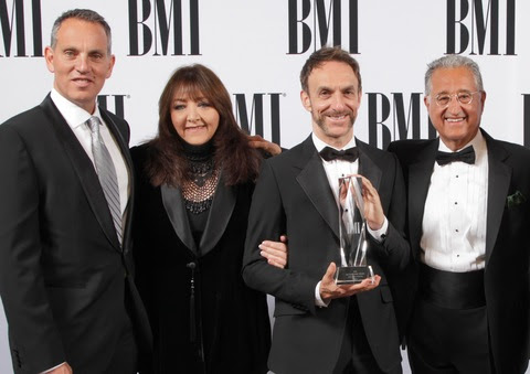 Mychael Danna Receives Richard Kirk Award at BMI Film/TV Awards