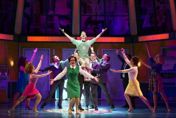 Photo Flash: First Look - Walnut Street Theatre's HOW TO SUCCEED IN BUSINESS WITHOUT REALLY TRYING