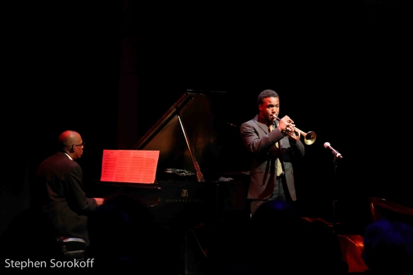 Victor Burks & Wallace Roney Photo