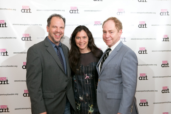 Aaron Posner, Diane Paulus, and Teller