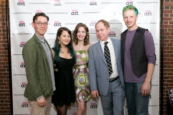 Michael Brun, Shaina Taub, Charlotte Graham, Teller and Nate Tucker