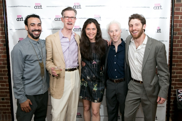 Manelich Minniefee, Tom Nelis, Diane Paulus, Nate Dendy, and Zachary Eisenstat  Photo