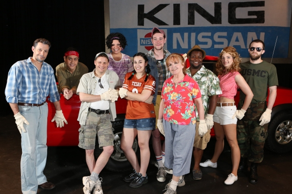 Photo Flash: Meet the Cast of New Line's HANDS ON A HARDBODY