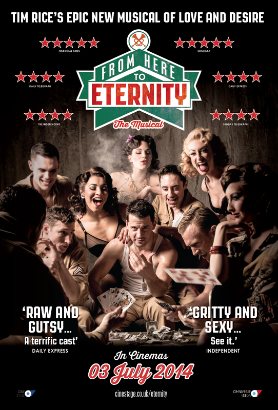 Trailer Unveiled For UK Screening Of West End's FROM HERE TO ETERNITY, 7/3