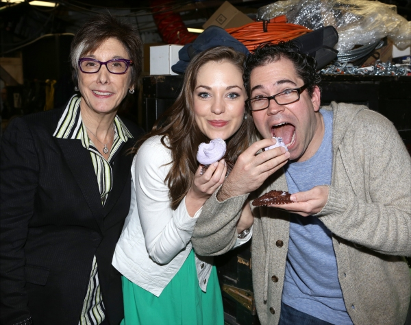 Robyn Goodman, Alumini Laura Osnes and Former musical director Andy Einhorn