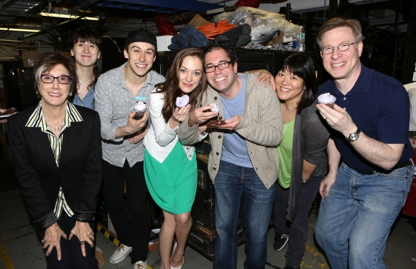 Robyn Goodman, Kendal Hartse, Cody Williams, Laura Osnes, Andy Einhorn, Ann Harada and Ira Mont