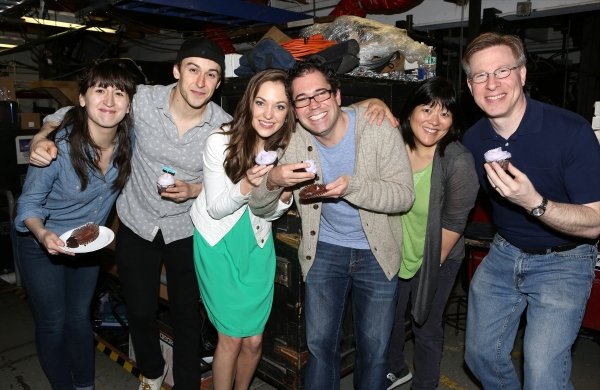Kendal Hartse, Cody Williams, Laura Osnes, Andy Einhorn, Ann Harada and Ira Mont