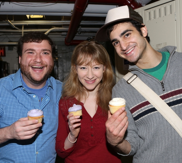 Todd Bonopane, Kaitlyn Davidson and Nathan Lucrezio