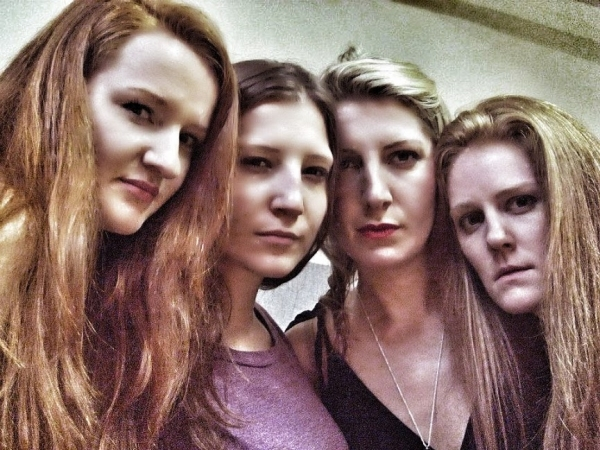 Jennifer Lynn Tune, Rachel Pfennigwerth, Ashley Lovell and Emilie Bienne  as Eva and Erna