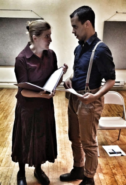 Photo Flash: In Rehearsal with 3 Voices Theatre's MEIN UNCLE