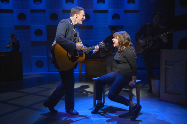 Photo Flash: First Look at Stephen Lee Anderson, Nick Blaemire, Chloe Tucker and More in CHASING THE SONG at La Jolla Playhouse