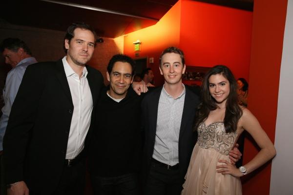 Cast members Malcolm Madera, José Zuniga, Stephen Ellis and Savannah Lathem