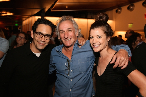 Cast member José Zuniga, actor Matt Craven and cast member Devin Kelley