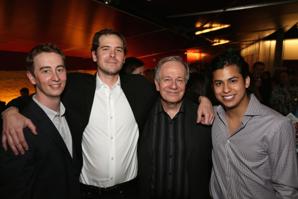 Cast members Stephen Ellis, Malcolm Madera, Sam Anderson and Erick Lopez Photo