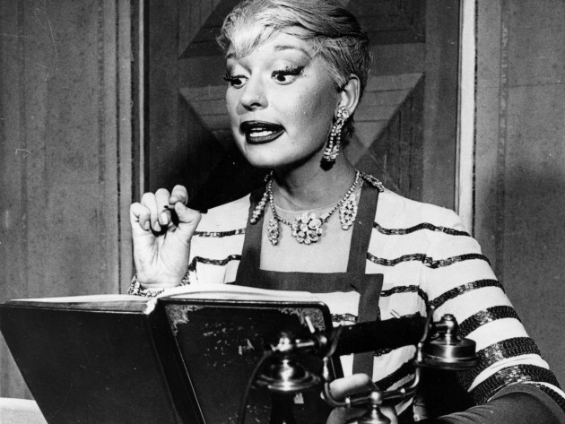 THEATRICAL THROWBACK THURSDAY: Carol Channing & GENTLEMEN PREFER BLONDES