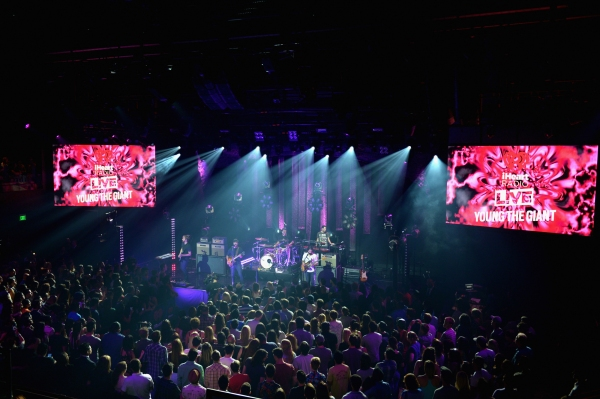 Photo Flash: Young the Giant Performs at iHeartRadio Theater