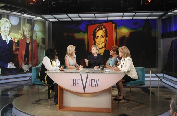 THE VIEW - Barbara Walters says farewell to live daily television with her final co-host appearance on â�¿��¿�The View,â�¿��¿� the daytime program she created for ABC airing Friday, May 16, 2014.  ''The View'' airs Monday-Friday (11:00 a.m.- 12 noon, ET