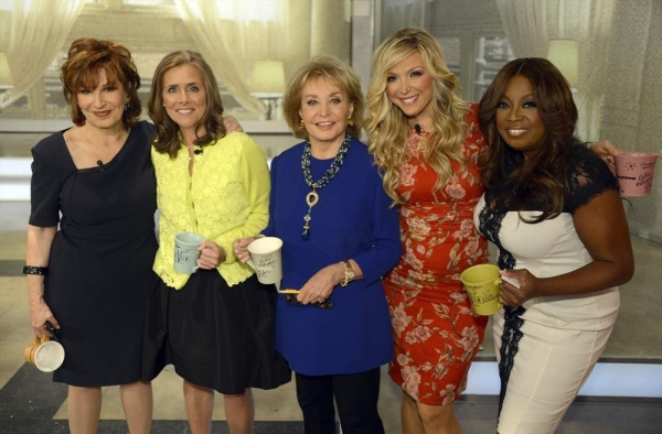 THE VIEW - 5/15/14 - For the first time in television history, all 11 co-hosts of ABC''s ''The View,'' present and past, shared the same stage, live, THURSDAY, MAY 15 on ABC to celebrate the showâ�¿��¿�s creator Barbara Walters.  Walters is the last rema
