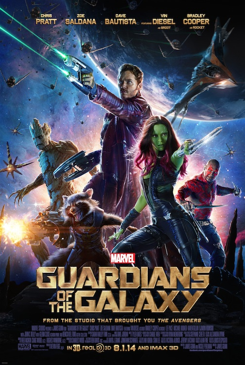 New MARVEL'S GUARDIANS OF THE GALAXY Poster; Live Q & A with Cast Announced
