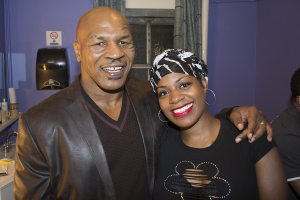 Mike Tyson and Fantasia Barrino