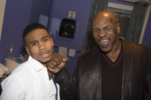 Mike Tyson and Virgil Gadson