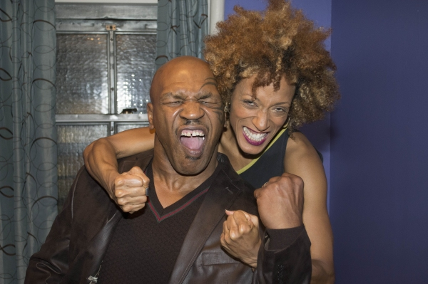 Mike Tyson and Karine Plantadit Photo