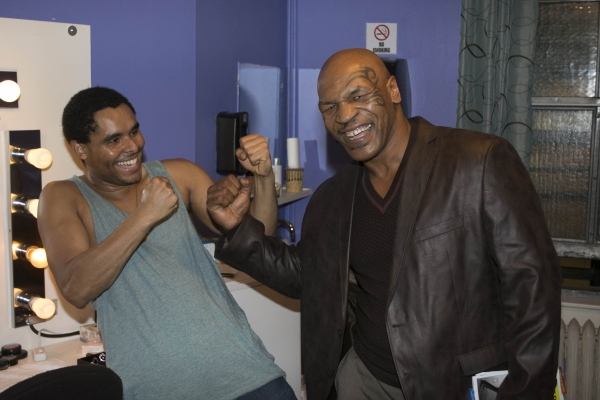 Phillip Attmore and Mike Tyson
