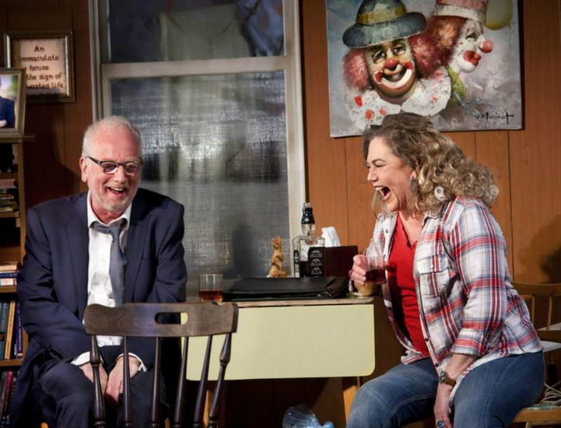 First Look At Kathleen Turner Onstage In BAKERSFIELD MIST