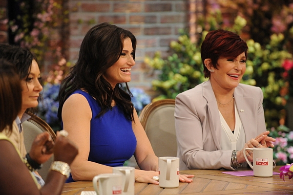 Sara Gilbert, Idina Menzel and Sharon Osbourne