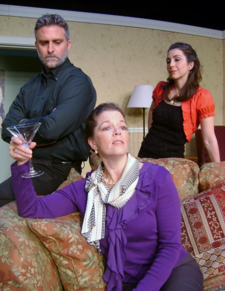 Scott Kelly Galbreath as Tobias, Tracy Hurd as Agnes and Suzanne Balling as Claire Photo
