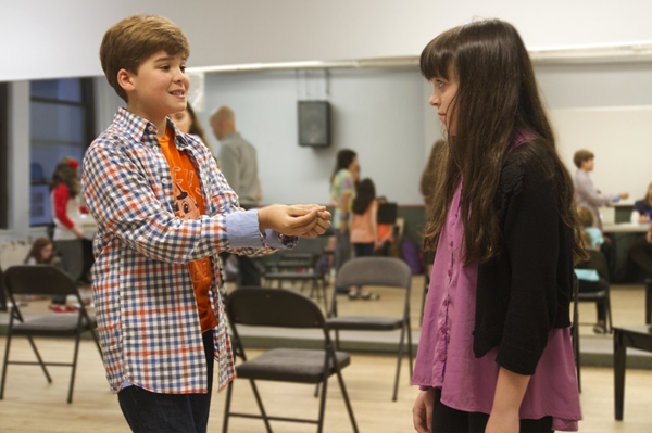 Photo Flash: In Rehearsals with Off-Broadway's A LITTLE PRINCESS