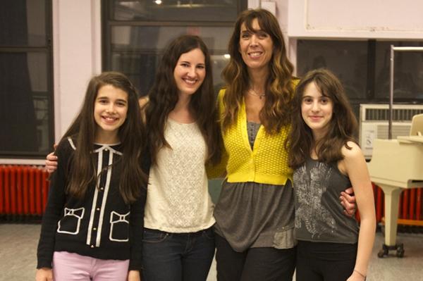 Director Laura Luc, with Mavis Simpson-Ernst, Kathi Troy and Maya Jade Frank Photo