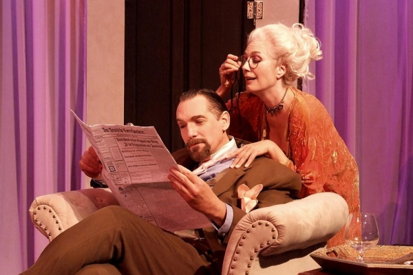 Photo Flash: First Look at THE GUARDSMAN at NoHo Arts Center