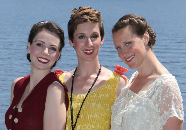 Liz Sklar, Kathryn Zdan and Megan Smith star as the Fail sisters -- Jenny June, Nelly and Gerty