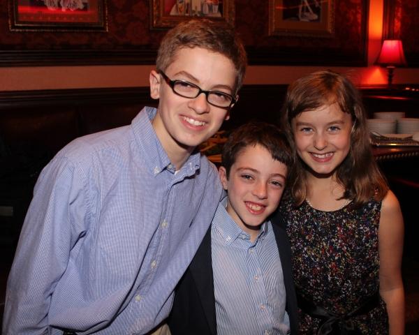 Griffin Birney, Noah Hinsdale and Sydney Lucas
