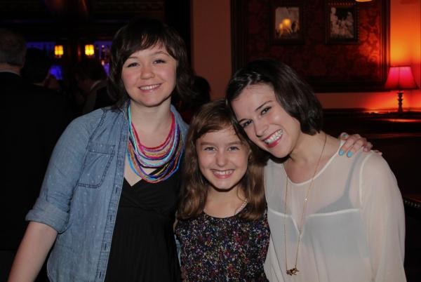 Emily Skeggs, Sydney Lucas and Alexandra Socha