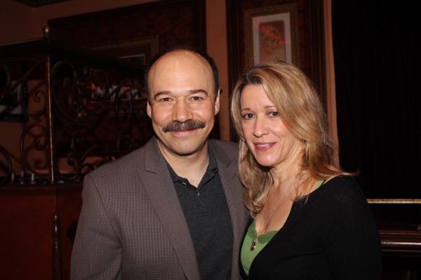Danny Burstein and Linda Emond