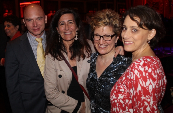 Michael Cerveris, Jeanine Tesori, Lisa Kron and Judy Kuhn